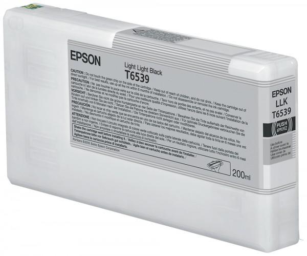 Epson Tinte C13T653900 T6539 Hell Hell Schwarz 200 ml 1 Stück