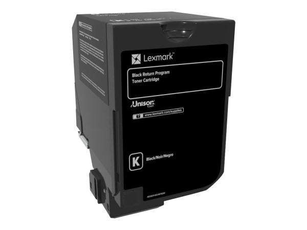Lexmark Toner 74C20K0 Schwarz 3.000 Seiten 1 Stück