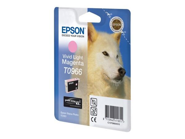 Epson Tinte C13T09664010 T0966 Hell Magenta 865 Seiten 11,4 ml 1 Stück