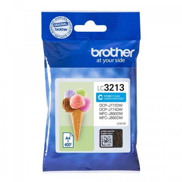 Brother Tinte LC-3213 C Cyan 400 Seiten 1 Stück
