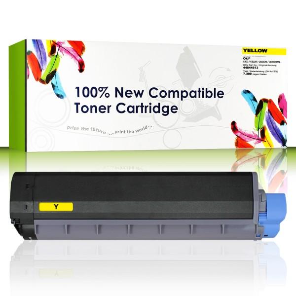 CartridgeWeb Toner kompatibel zu Oki 44844613 gelb 7.300 Seiten 1 Stüc