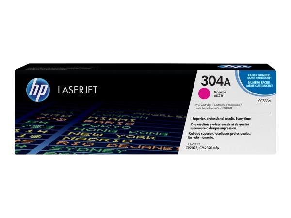 HP Toner CC533A 304A magenta 2.800 Seiten 1 Stück
