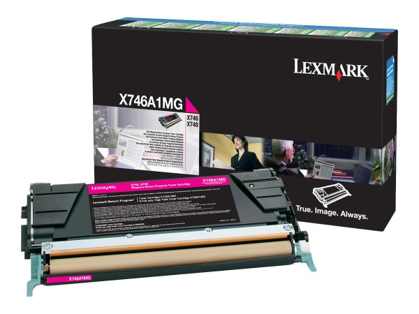 Lexmark Toner X746A1MG Magenta 7.000 Seiten 1 Stück