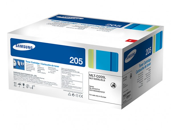 Samsung Toner MLT-D205L/ELS Schwarz 5.000 Seiten Große Füllmenge 1 Stück