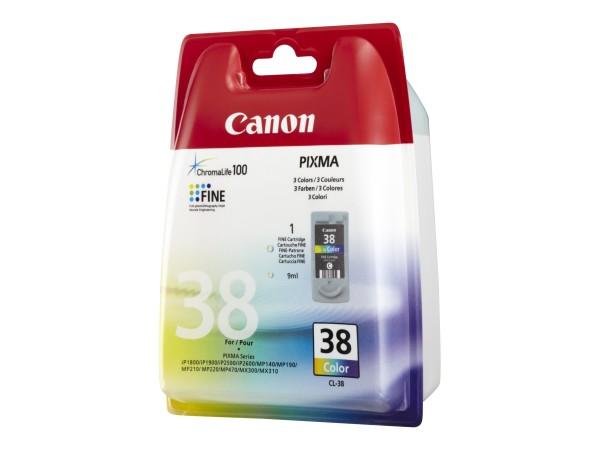 Canon Druckkopf 2146B001 CL-38 color 207 Seiten 9 ml 1 Stück