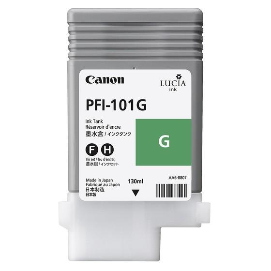 Canon Tinte 0890B001 PFI-101 G Grün 130 ml pigmentiert 1 Stück