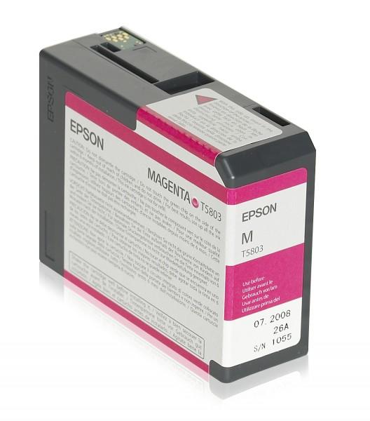 Epson Tinte C13T580300 T5803 magenta 80 ml 1 Stück