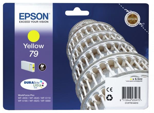 Epson Tinte C13T79144010 79 Gelb 800 Seiten 6,5 ml 1 Stück