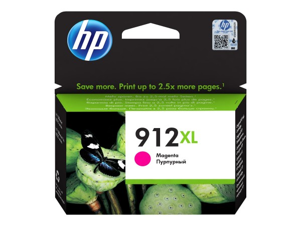 HP Tinte 3YL82AE#BGX 912XL Magenta 825 Seiten 10,4 ml pigmentiert 1 Stück
