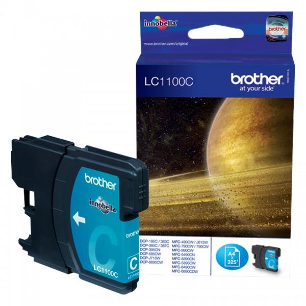 Brother Tinte LC-1100 C Cyan 325 Seiten 5,5 ml 1 Stück