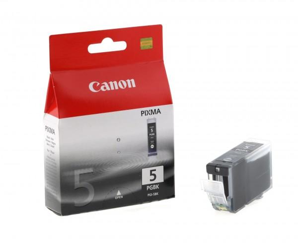 Canon Tinte 0628B001 PGI-5 BK Schwarz 505 Seiten 26 ml pigmentiert 1 Stück