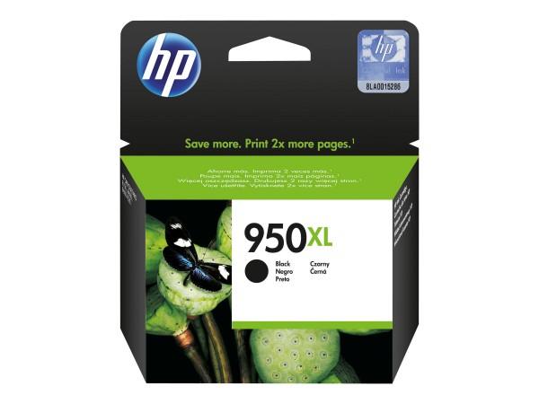 HP Tinte CN045AE 950XL schwarz 2.300 Seiten 53 ml Große Füllmenge 1 Stück