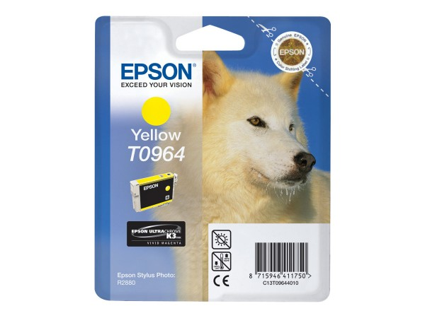 Epson Tinte C13T09644010 T0964 gelb 890 Seiten 11,4 ml 1 Stück