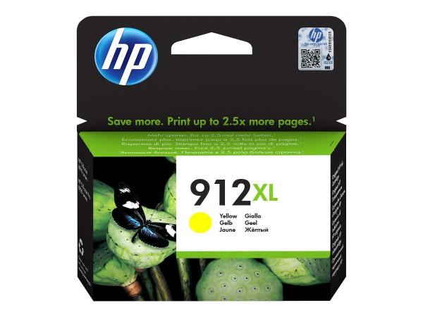 HP Tinte 3YL83AE#BGX 912XL Gelb 825 Seiten 9,9 ml pigmentiert 1 Stück