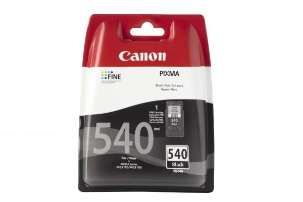Canon Tinte 5225B005 PG-540 Schwarz 180 Seiten 8 ml pigmentiert 1 Stück