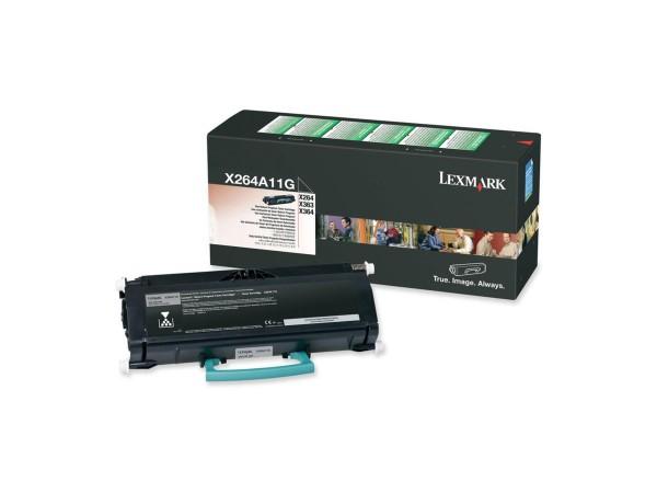 Lexmark Toner X264A11G schwarz 3.500 Seiten 1 Stück