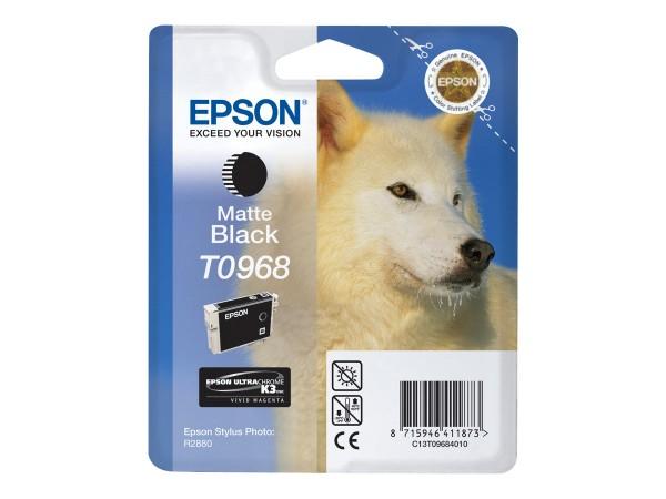 Epson Tinte C13T09684010 T0968 Mattschwarz 495 Seiten 11,4 ml 1 Stück
