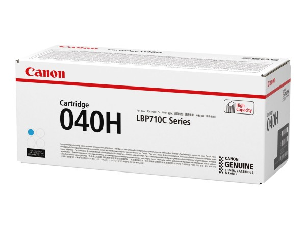 Canon Toner 0459C001 040 H Cyan 10.000 Seiten 1 Stück