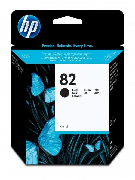 HP Tinte CH565A 82 schwarz 1.750 Seiten 69 ml 1 Stück