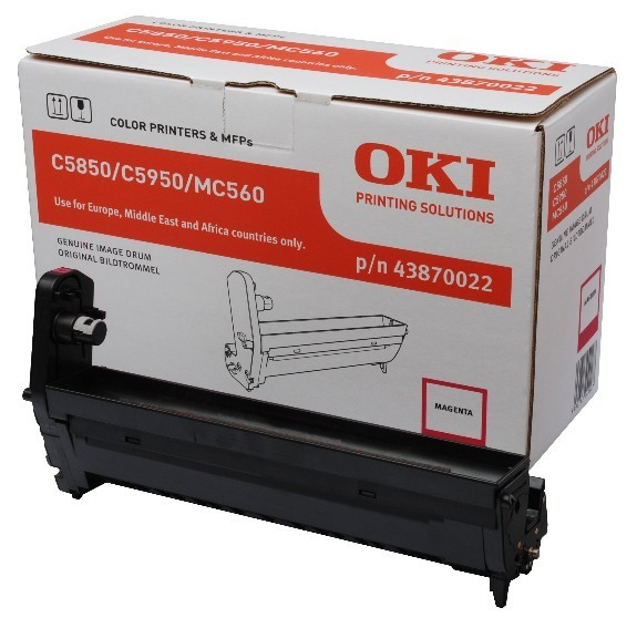 Oki Trommel-Kit 43870022 Magenta 20.000 Seiten