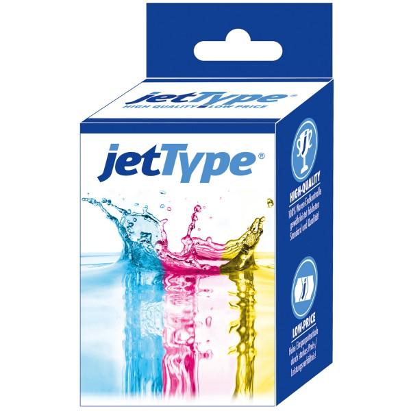 jetType Tinte kompatibel zu HP C9351CE 21XL schwarz 520 Seiten 20 ml Große Füllmenge