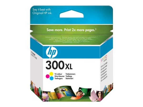 HP Tinte CC644EE 300XL color 440 Seiten 11 ml Große Füllmenge 1 Stück