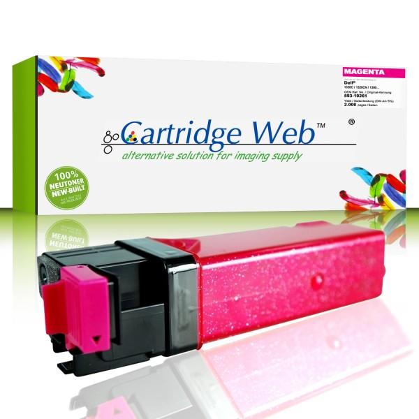 CartridgeWeb Toner kompatibel zu Dell 593-10261 WM138 magenta 2.000 Seiten 1 Stück