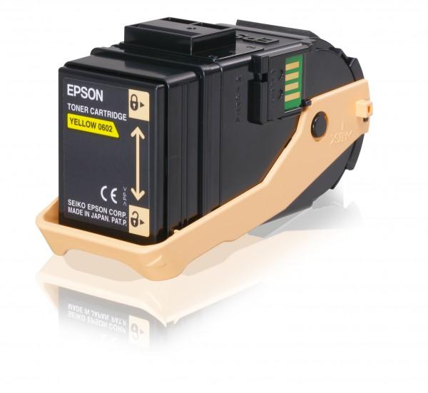 Epson Toner C13S050602 0602 Gelb 7.500 Seiten 1 Stück
