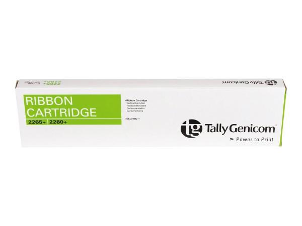 Tally Genicom Farbband 062471 Nylon schwarz 20 Mio Zeichen