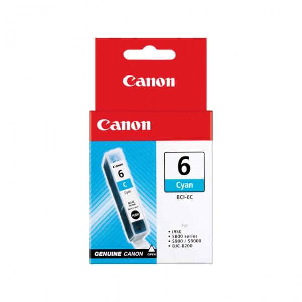 Canon Tinte 4706A002 BCI-6 C Cyan 280 Seiten 13 ml 1 Stück