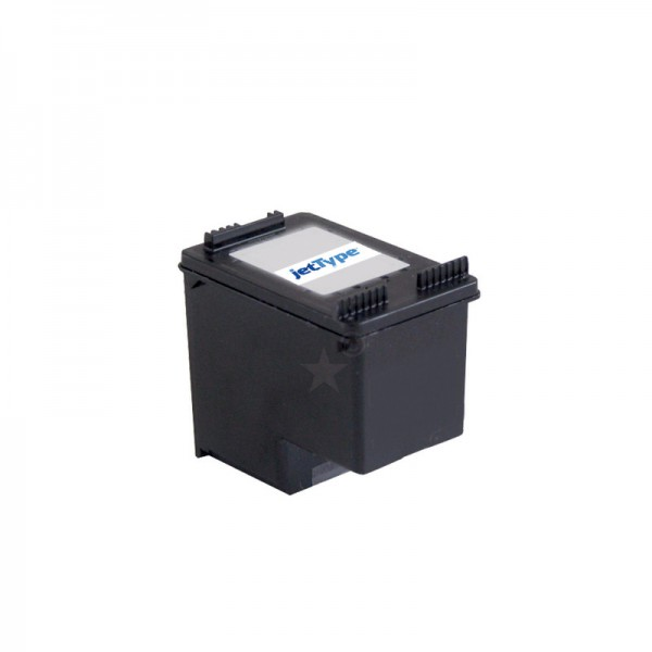 jetType Tinte kompatibel zu HP CC654A 901XL 21 ml schwarz 770 Seiten