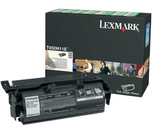 Lexmark Toner T650H11E schwarz 25.000 Seiten Große Füllmenge 1 Stück