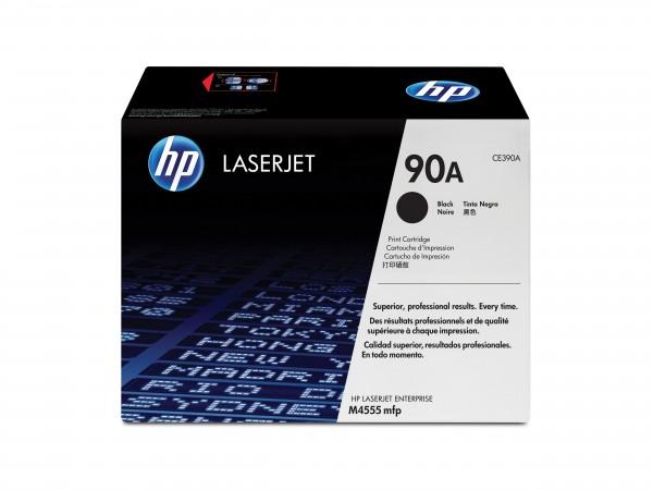 HP Toner CE390A 90A schwarz 10.000 Seiten 1 Stück