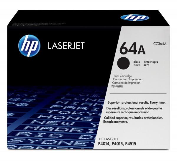 HP Toner CC364A 64A schwarz 10.000 Seiten 1 Stück