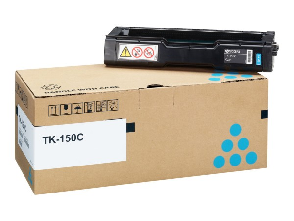 Kyocera Toner 1T05JKCNL0 TK-150C Cyan 6.000 Seiten 1 Stück