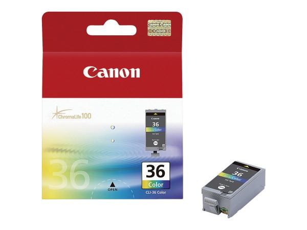 Canon Tinte 1511B001 CLI-36 color 249 Seiten 12 ml 1 Stück