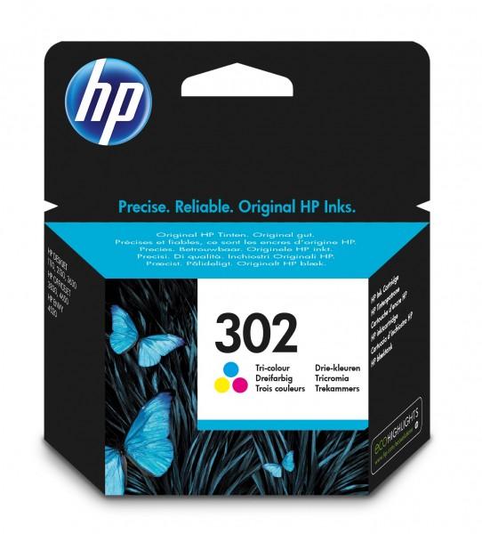 HP Tinte F6U65AE 302 color 165 Seiten 4 ml 1 Stück