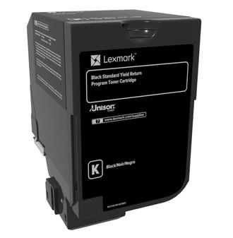 Lexmark Toner 74C2SK0 Schwarz 7.000 Seiten 1 Stück