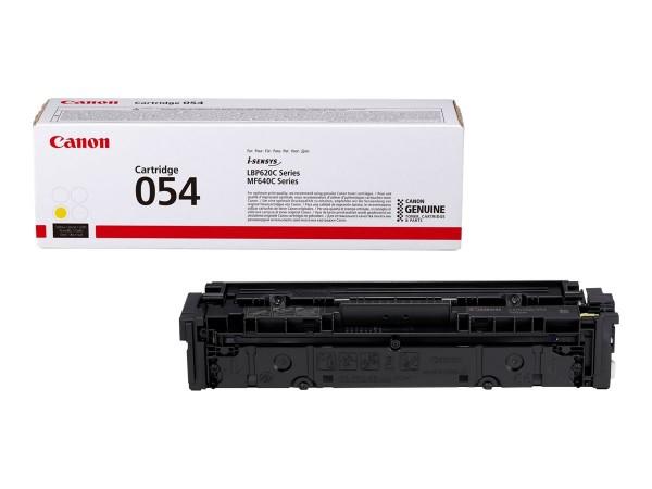 Canon Toner 3021C002 054 Gelb 1.200 Seiten 1 Stück