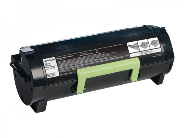 Lexmark Toner 60F2H00 602H Schwarz 10.000 Seiten 1 Stück