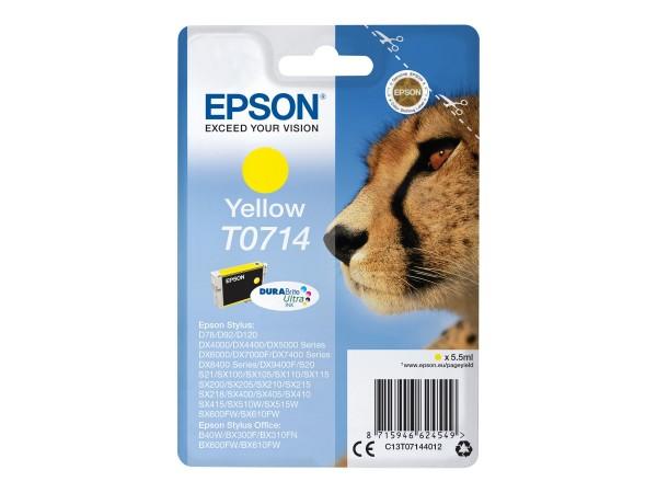 Epson Tinte C13T07144012 T0714 Gelb 5,5 ml 1 Stück
