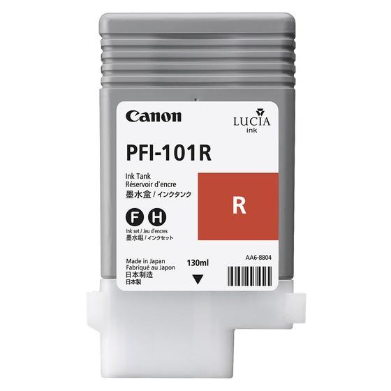 Canon Tinte 0889B001 PFI-101 R Rot 130 ml pigmentiert 1 Stück
