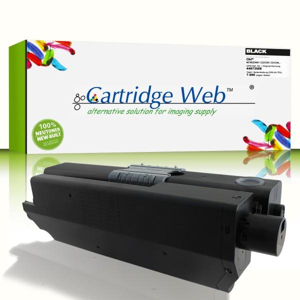 CartridgeWeb Toner kompatibel zu Oki 44973508 schwarz 7.000 Seiten