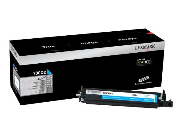 Lexmark Entwickler-Kit 700D2 70C0D20 40.000 Seiten cyan
