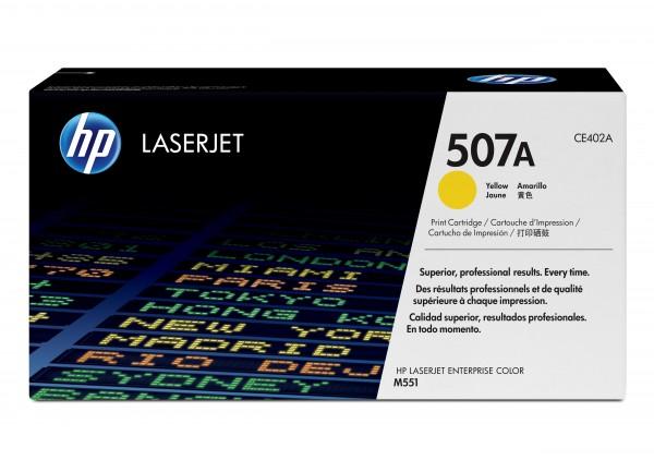 HP Toner CE402A 507A gelb 6.000 Seiten 1 Stück