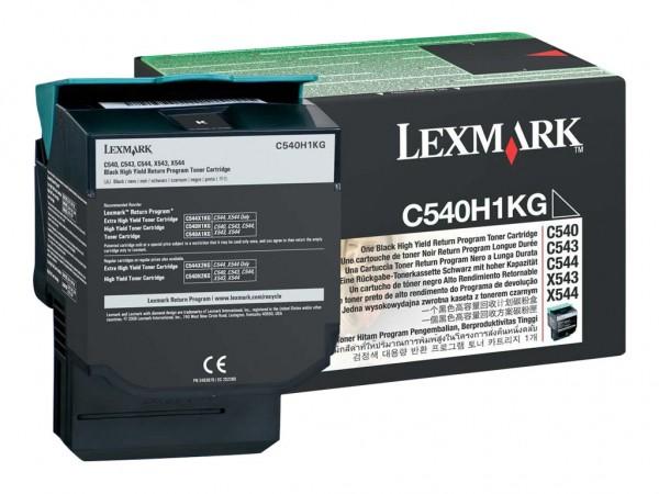 Lexmark Toner C540H1KG schwarz 2.500 Seiten Prebate 1 Stück