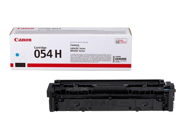 Canon Toner 3027C002 054 H Cyan 2.300 Seiten Große Füllmenge 1 Stück