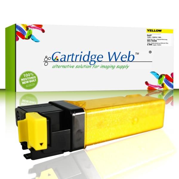 CartridgeWeb Toner kompatibel zu Dell 593-10260 PN124 gelb 2.000 Seiten 1 Stück