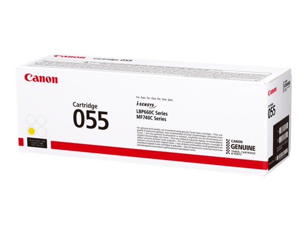 Canon Toner 3013C002 055 Gelb 2.100 Seiten 1 Stück