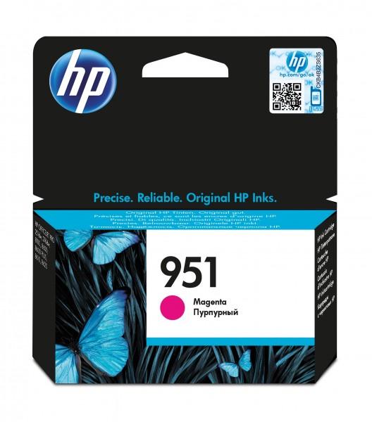HP Tinte CN051AE 951 magenta 700 Seiten 11 ml pigmentiert 1 Stück